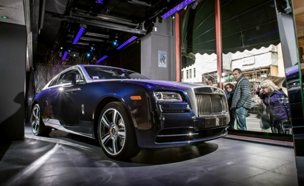 Rolls-Royce Wraith Convertible Version Approved