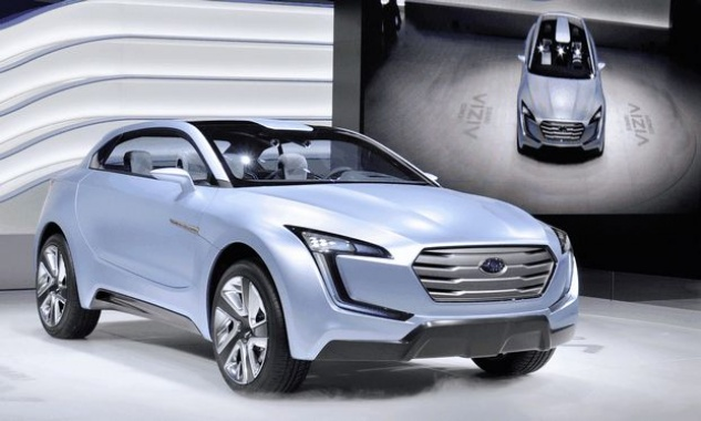 New look of Viziv concept model will be presented by Subaru