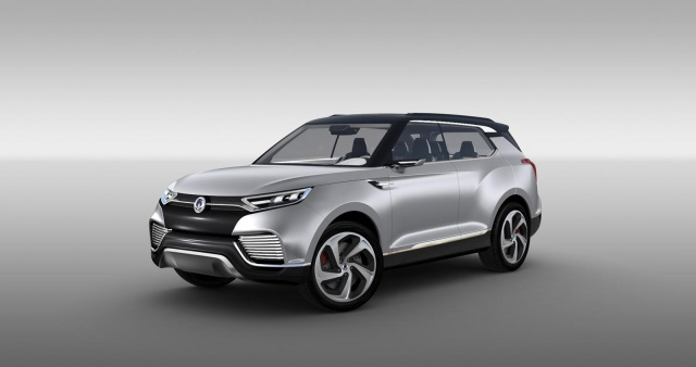 SsangYong Concept to be Realized in 2015