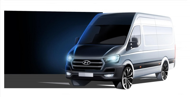 Teaser of Hyundai H350 Cargo Wagon Appeared