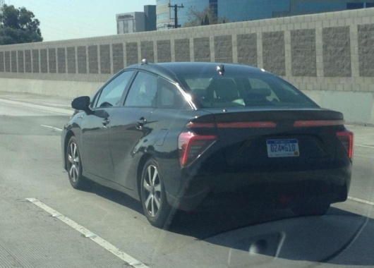 Toyota Mirai of 2016 has been spotted in the United States