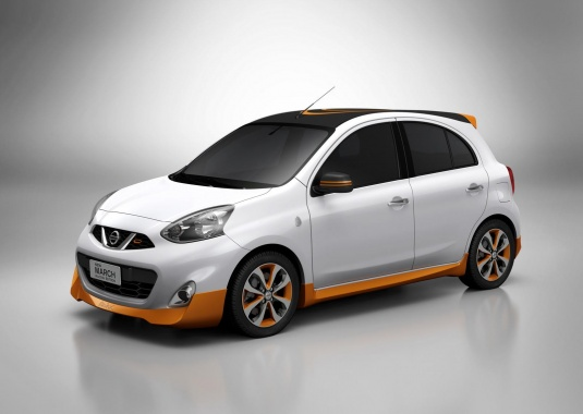 Nissan March Rio Edition of 2016 Will be Presented Officially and Has Visual Changes