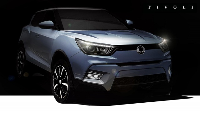 SsangYong Tivoli Will be on Sale Starting from the Next Year