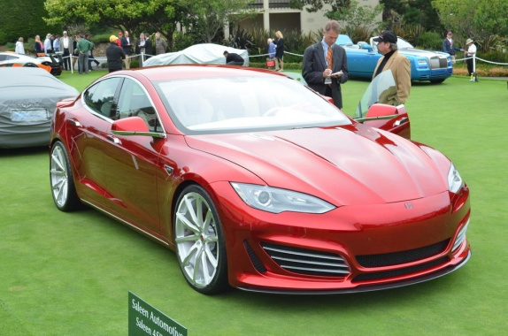Saleen Gives New Names for the Tesla Variant S Packages