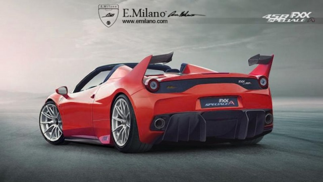 458 FXX Speciale A from Ferrari Envisioned as an Only-Track 458 Speciale Aperta