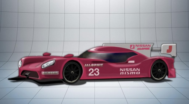 GT-R LM NISMO from Nissan was spied and will at Le Mans in 2015