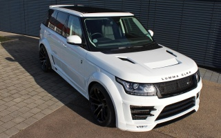 Range Rover will have a Widebody Set from Lumma Design