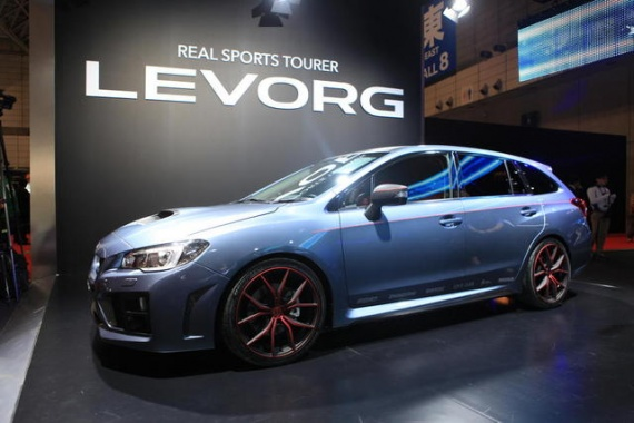 Performance Wagon from Subaru Previewed