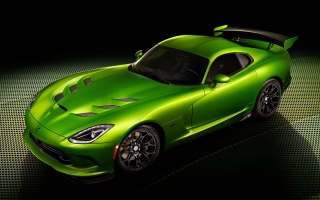 Viper from SRT: Now in Green and Packaged with Grand Touring Option