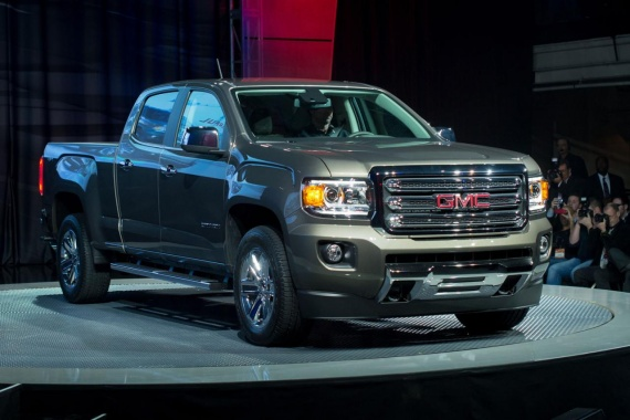 GMC Canyon 2015 Officially Revealed