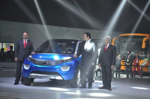 Tata Unveiled Two Concepts in Delhi