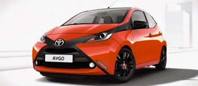 Promo Photos of New Toyota Aygo