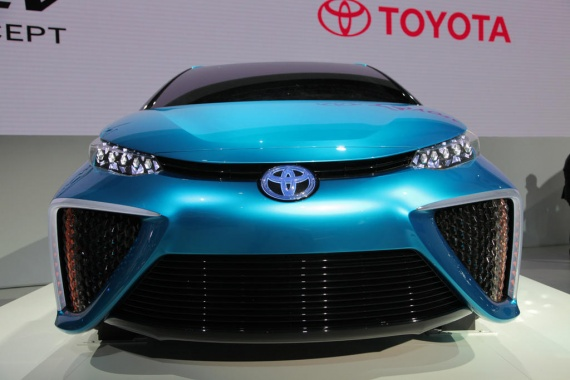 2014 Release of Fuel Cell Toyota