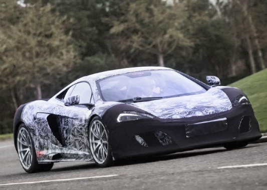A More Potent 650S from McLaren will be shown in Geneva and it could be the 675 LT