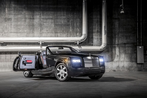 Phantom Drophead Coupe Nighthawk Presented by Rolls-Royce in North America
