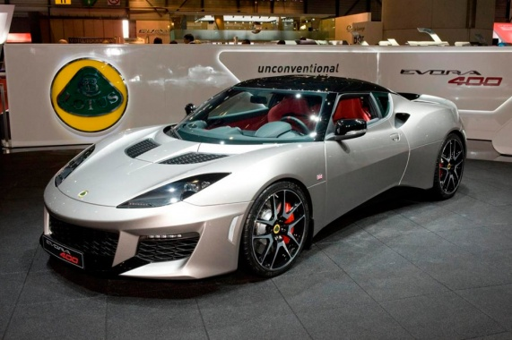 More Power and Upgraded Mechanics in the Lotus Evora 400