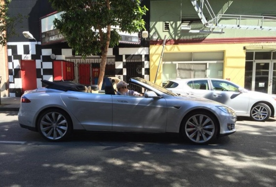 Get Tesla Model S Convertible on eBay for $125,000!