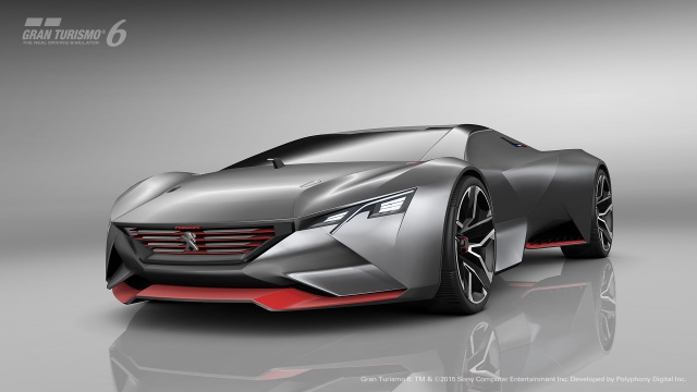 875 HP for Vision GT Concept from Peugeot