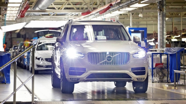 Volvo is building a New Factory in South Carolina