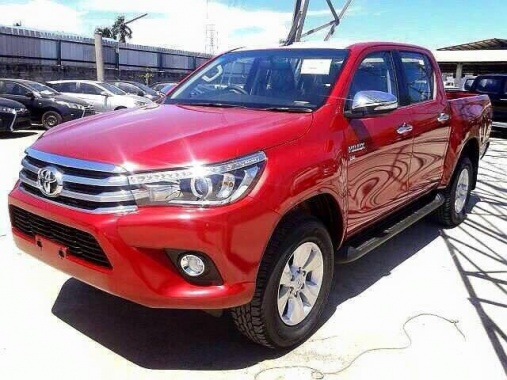 Full Characteristic of 2016 Toyota Hilux