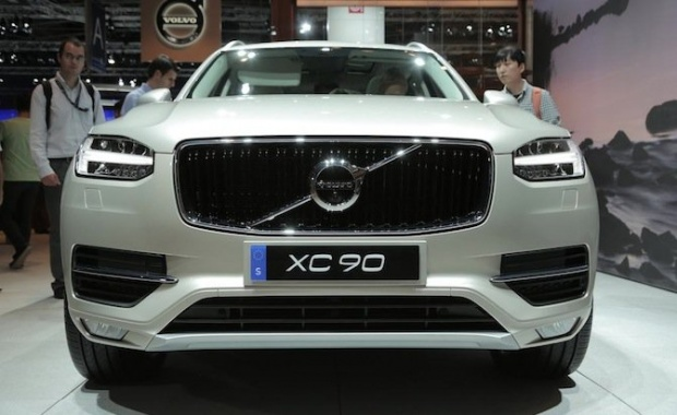 The XC90 influenced the 2017 Volvo S90's Style