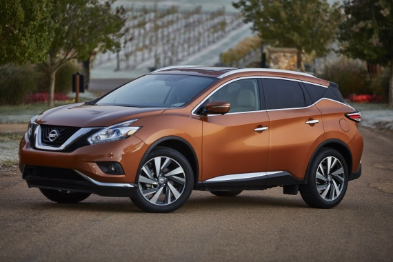 Nissan recalls 2015 Murano and Rogue Select