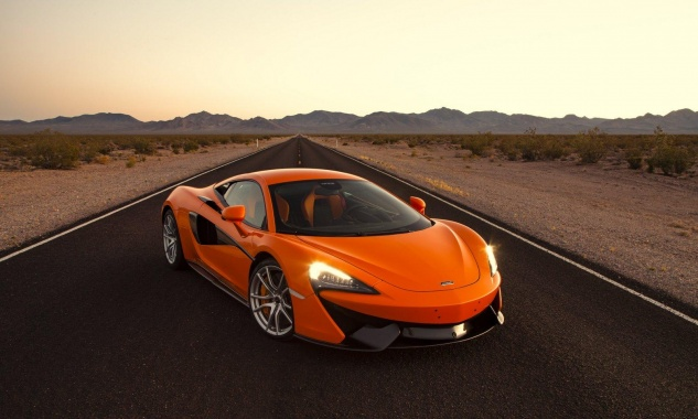 Pre-Production of McLaren Sport Series