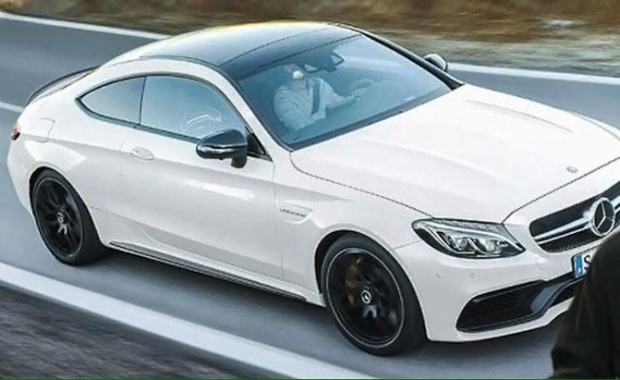 See Photos of Mercedes-AMG C63 Coupe ahead its Introduction