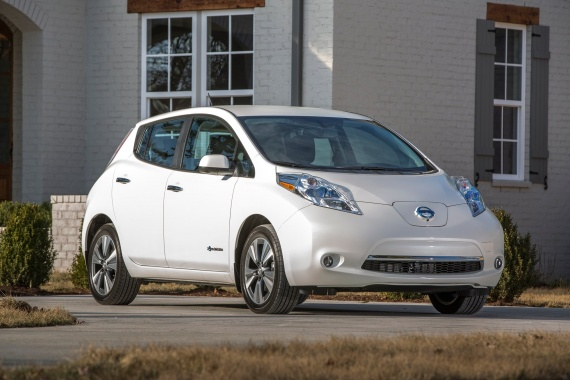 110-Mile Range for 2016 Nissan Leaf