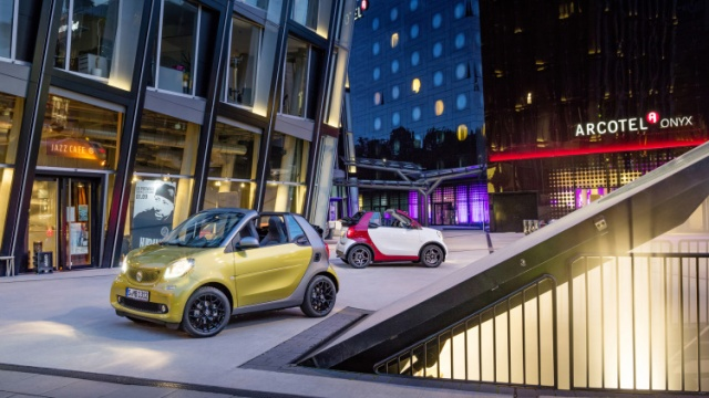 Next Year's Smart Fortwo Cabrio Pre-Release