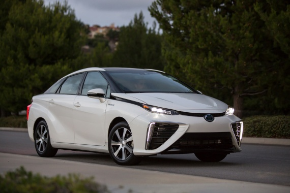 Toyota wants to develop More Hydrogen Fuel Cell Cars