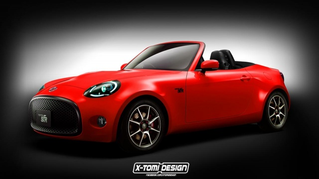 Will the rendered S-FR Roadster from Toyota see the World?