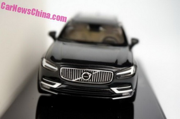 Restyled V90 from Volvo Leaked on the Web again