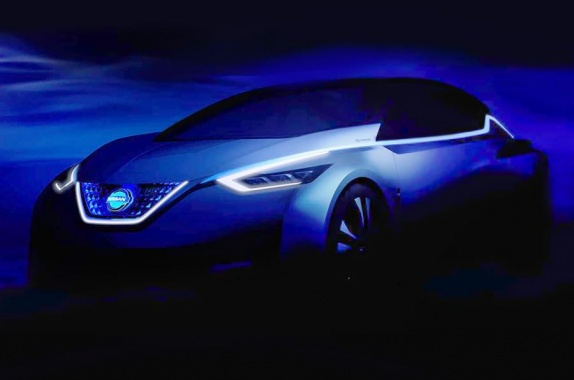 A New Concept to Preview Next-Gen Nissan Leaf