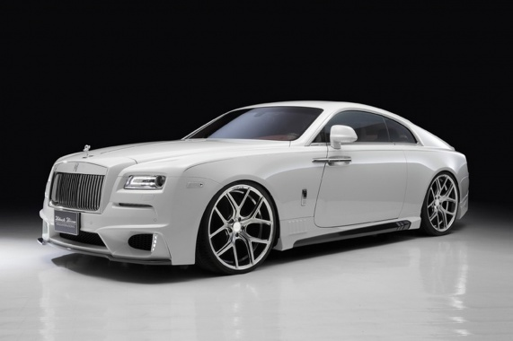 Wald produced its vision of Wraith from Rolls-Royce
