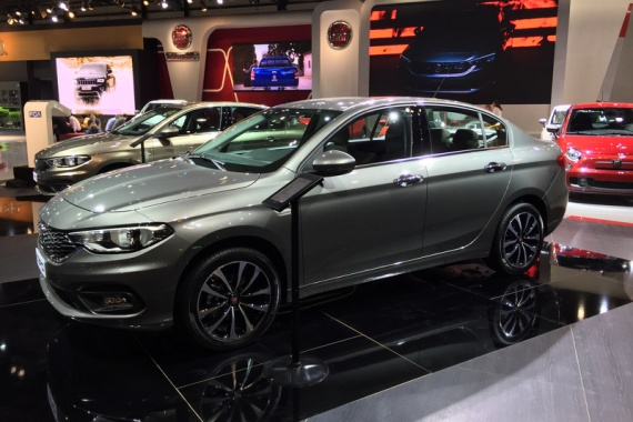 Dubai will see the Tipo from Fiat