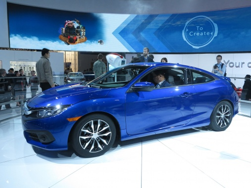 Sexy Outlook of the Next Year's Honda Civic Coupe