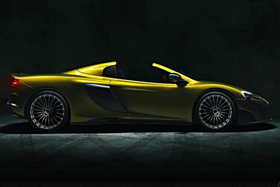 Photos of the McLaren 675 RS Spider