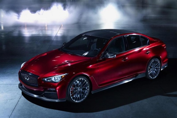 Infiniti may produce the Q50 Eau Rouge