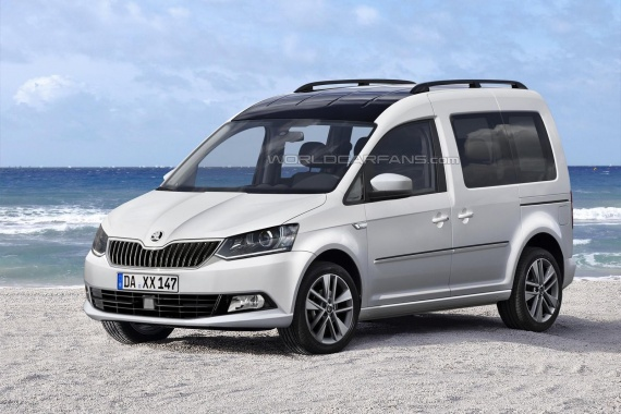 We will not see the Skoda Roomster