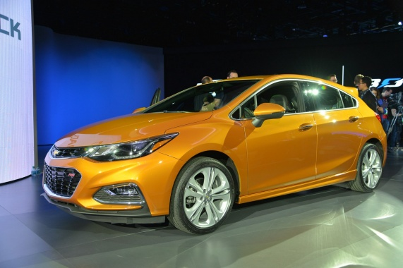 A High-Performance Version of the Chevy Cruze Hatch