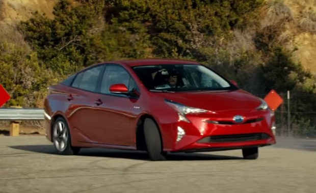 2016 Super Bowl Ad Presents Toyota Prius as a 'Badass'