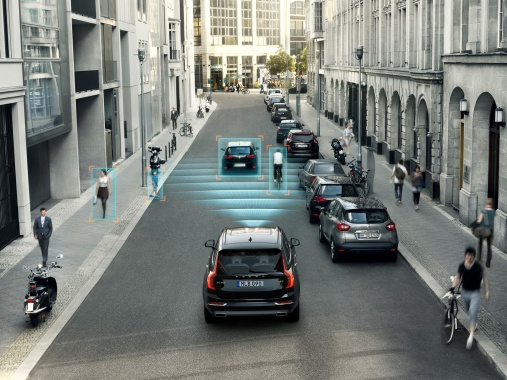 Rear-End Crashes will be Reduced by 41 Percent Thankfully to Volvo City Safety System