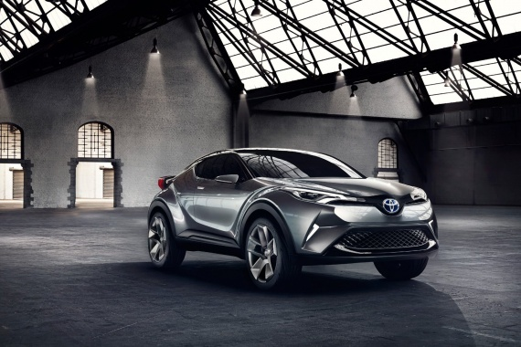 Production Variant of Toyota C-HR Crossover will Happen