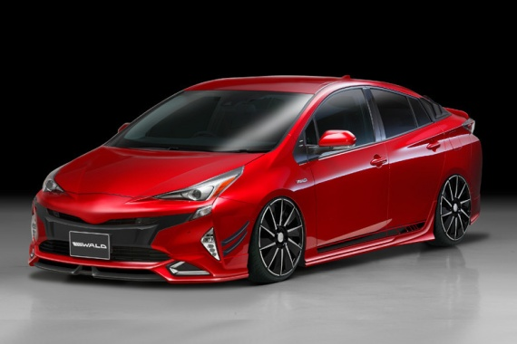 A New Aggressive Face of 2016 Toyota Prius