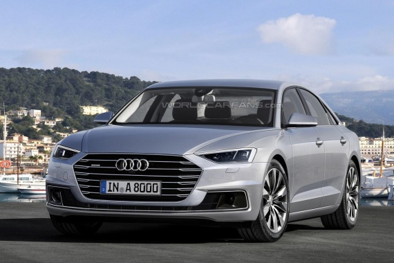 Audi will reveal its TDI V8 in April