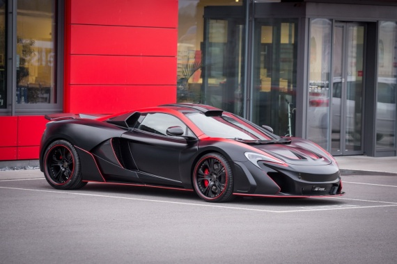 New Devilish Outlook of FAB Design McLaren 650S