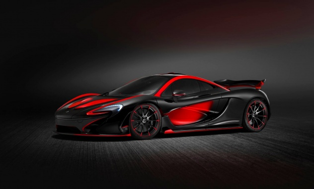 Successor of McLaren P1: a Fully Electric Supercar