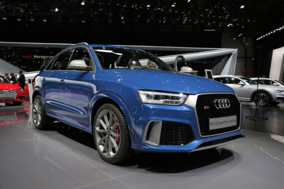 367 hp for Audi RS Q3 performance