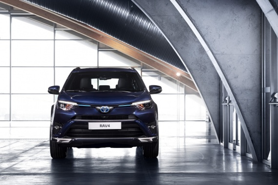See the RAV4 Sapphire Hybrid Concept from Toyota